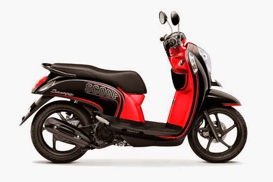Honda Scoopy FI Sporty Metro Black