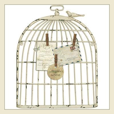 dekoratif kuş kafesi, bird cage, kafes pano