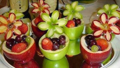 Adornos de Frutas para Baby Shower, parte 2