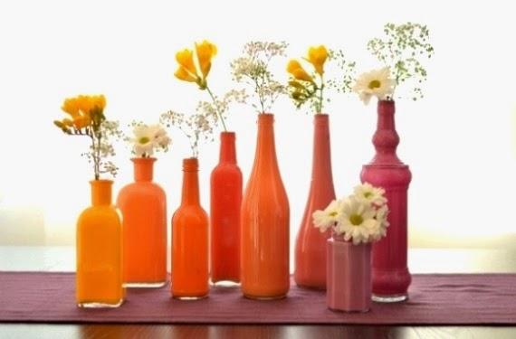 Kerajinan Tangan Dari Botol Bekas, Vas Botol Bekas 5