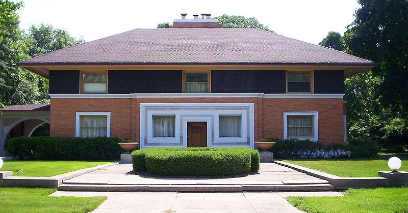 Art now and then prairie style architecture for Prairie style architecture