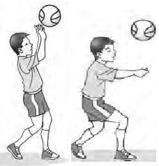 cara melakukan latihan ini pemain membawa bola kemudian p assing bola