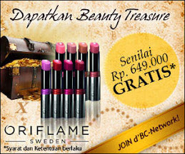 Promo Beauty Treasure (14 Nov - 30 Dec 2011