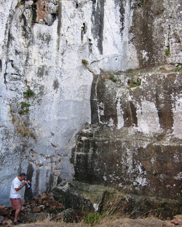 Gümüşlük Bozdağ Quarry Southern Face Western Ledges