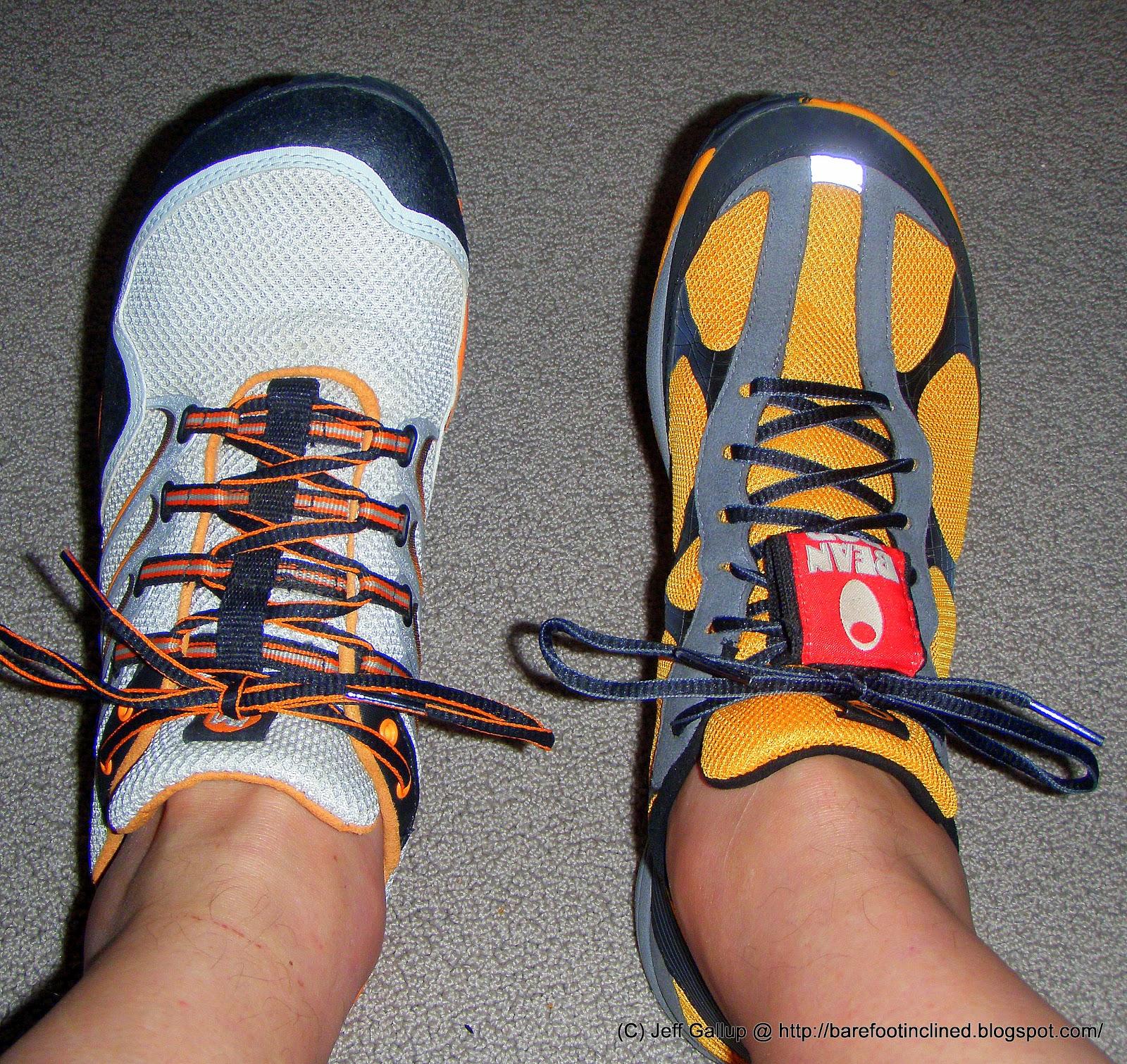 march madness merrell barefoot road glove vs trail glove