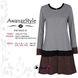 T-Shirt-Muslimah-Awanazstyle-AW0020O
