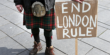 ZEROHEDGE: Panic On The Streets Of London ... Can Scotland Ever Be The Same Again?  End-london-rule