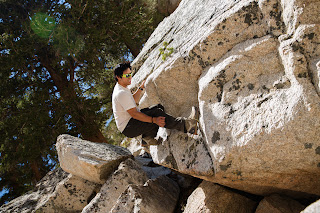 Boulders at Lone Pine Lake