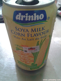Drinho Soya Bean Milk with Corn flavor