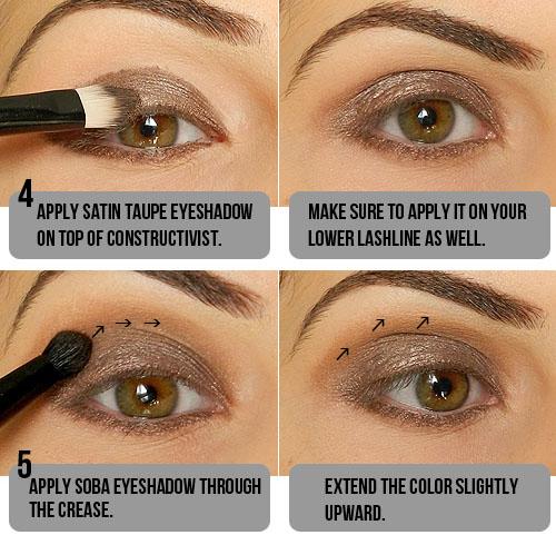 Step by Step Smokey Taupe Eyeshadow Tutorial!