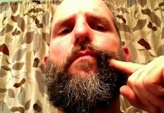 truco de video con la barba