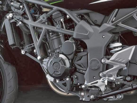 Galeri Kawasaki Ninja RR Mono - mesin