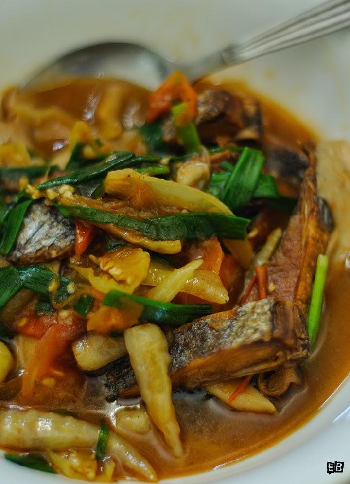 Ikan Masin Masak Lada Putih Sabah Resepi Menarik Nusantara