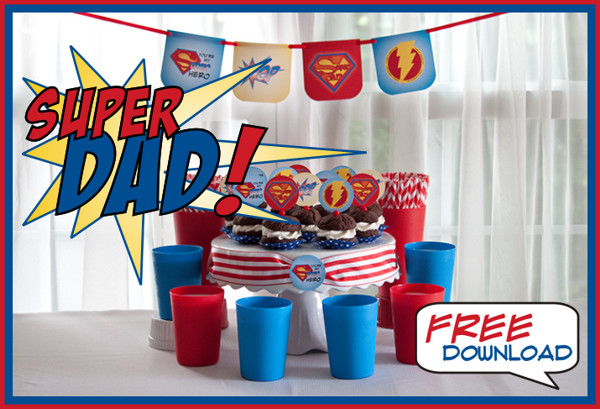 super dad Father's Day ideas Piggy Bank Parties