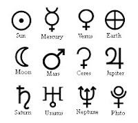 Los planetas como símbolos de energías