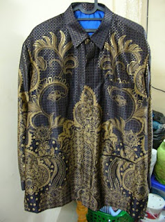 Baju Pesta Safari Batik