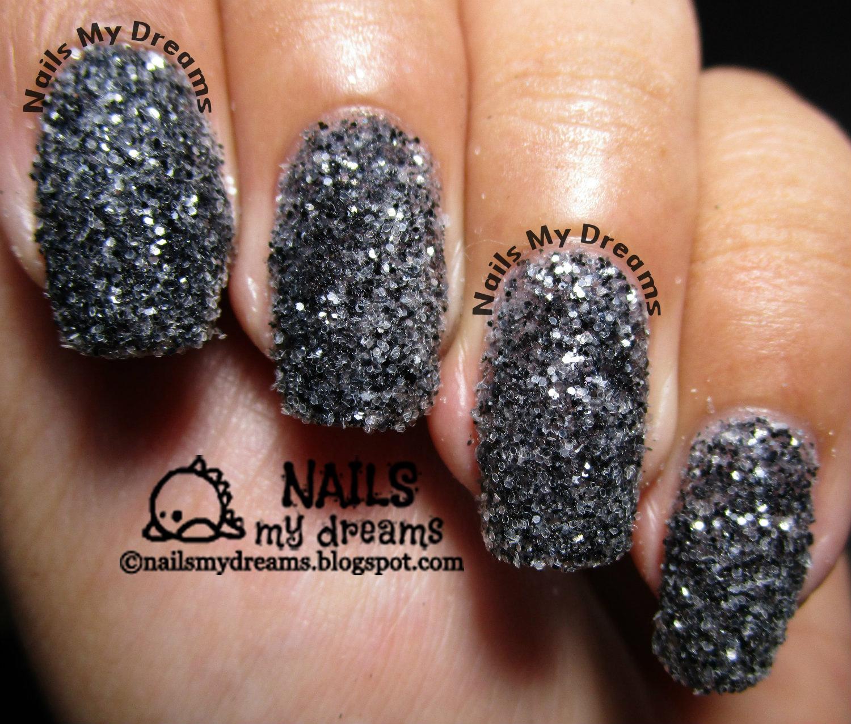 glitter nail art fail