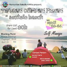 Event Sabuki : Touring, Camping Pantai Santolo, 23-24 April 2017