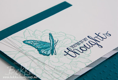 Best Thoughts Blue Sympathy Card.  Check it out here