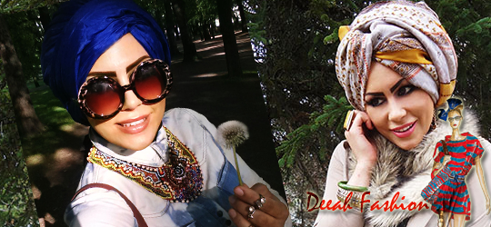 Jilbab Turban Chic to Office