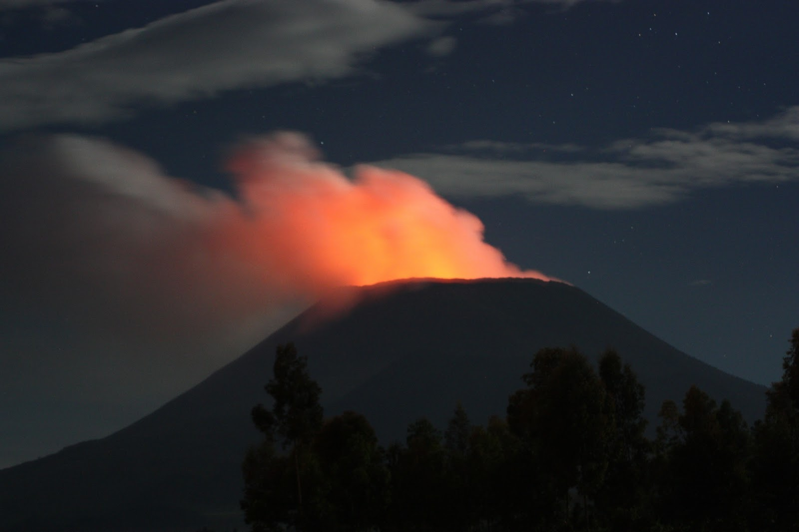 Nyiragongo Volcano Eruption Amazing photogr...