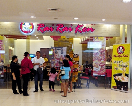 entrance to Rai Rai Ken at Lucky Chinatown Mall in Binondo, Manila