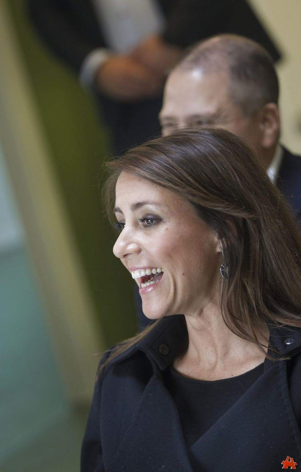 Princess Marie came to Hinnerup, a small town in Jutland
