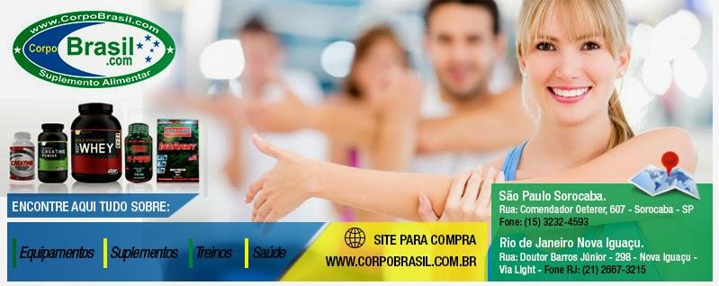Corpo Brasil Suplementos Alimentares e Materiais Esportivos