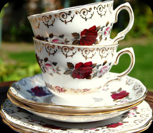 Fantasia de una princesa tazas de te vintage for Tazas de te estilo vintage