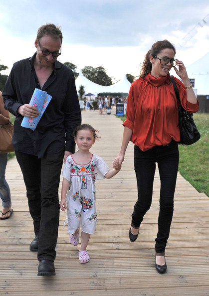 Anna Friel and David Thewlis beby kid Gracie friel