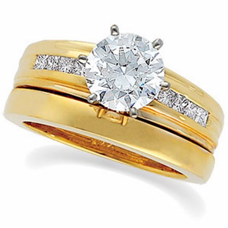 Engagement Gold Rings For Women Universal Fashion