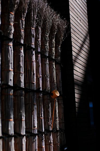 a bamboo ladle