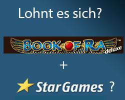 Ist es gut Book of ra bei Stargames zu spielen?