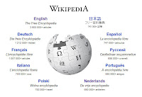 screenshot website Wikipedia