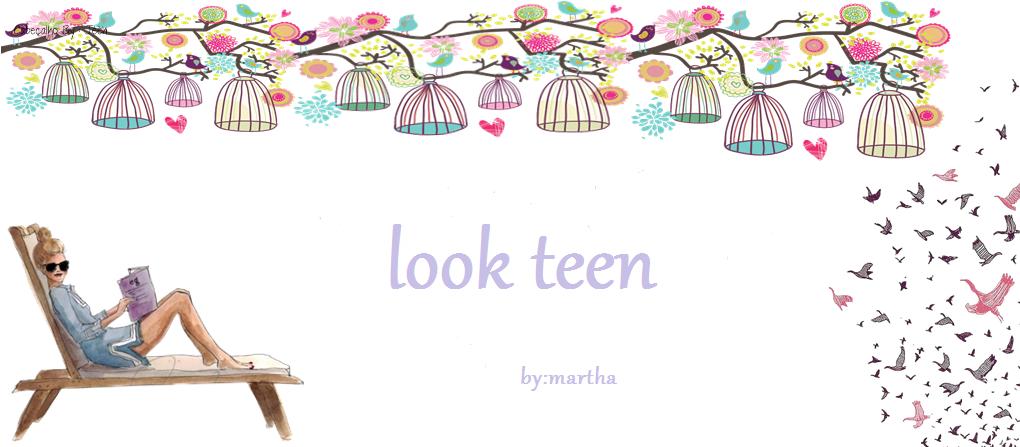 look teen