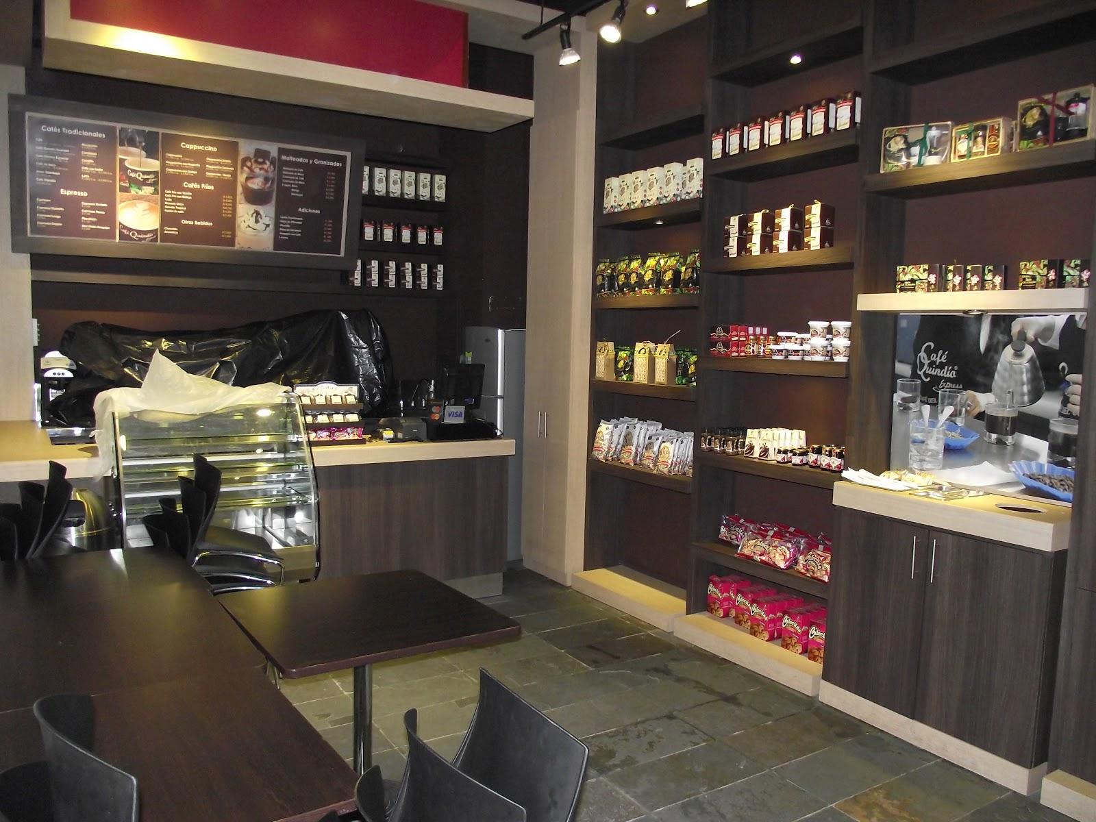 muebles para locales comerciales cafe quindio c c