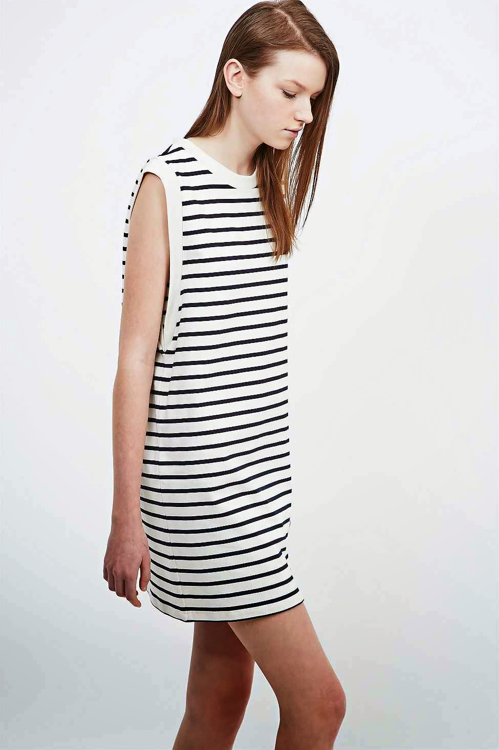 petit bateau striped dress woman