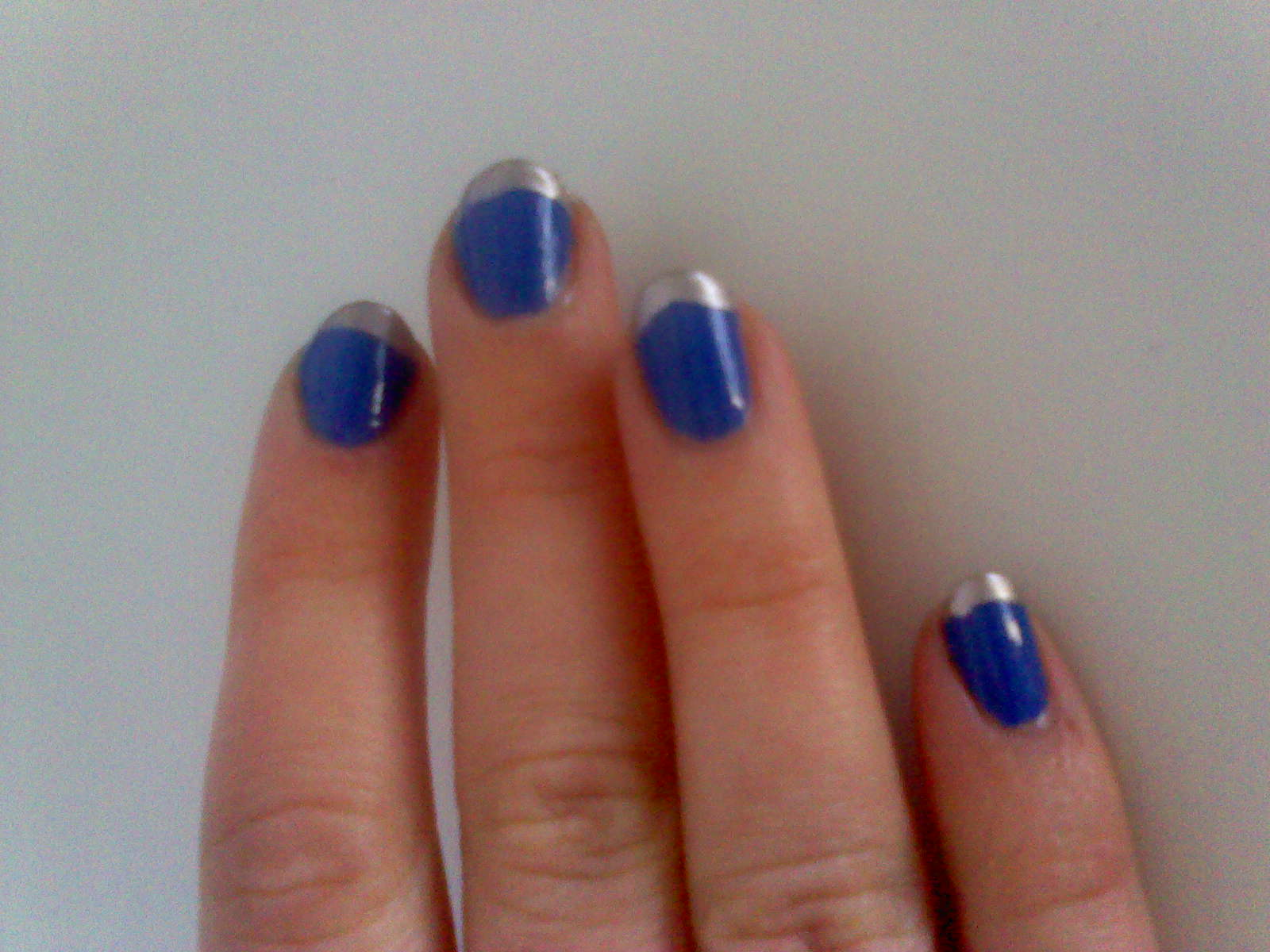Ladies\' Things: Monday Manicure - Coloured French