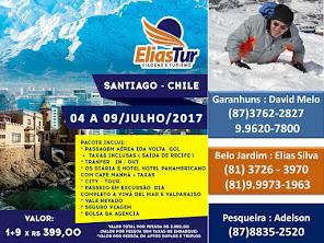 VIAGEM SANTIAGO - CHILE