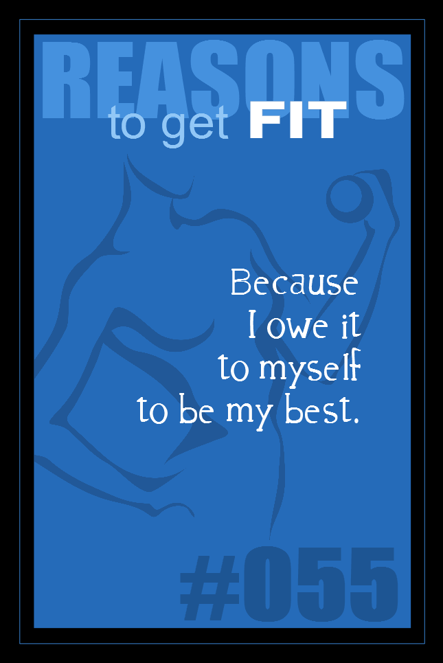 365 Reasons to Get Fit #055