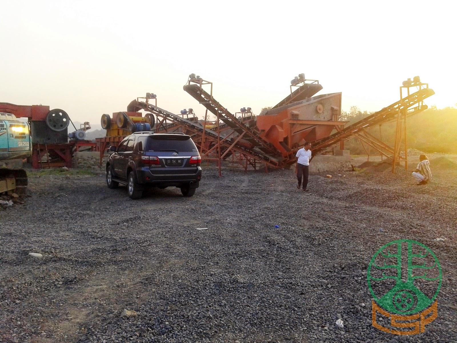 Project CSP Stone Crushing Plant 100 Tph, PT CTA Subang (06)