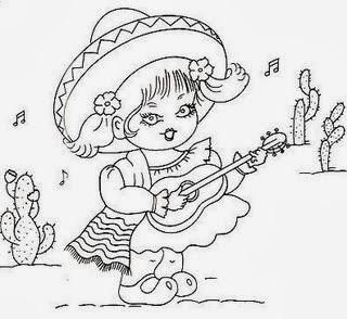 semaninha da volta ao mundo menina mexicana