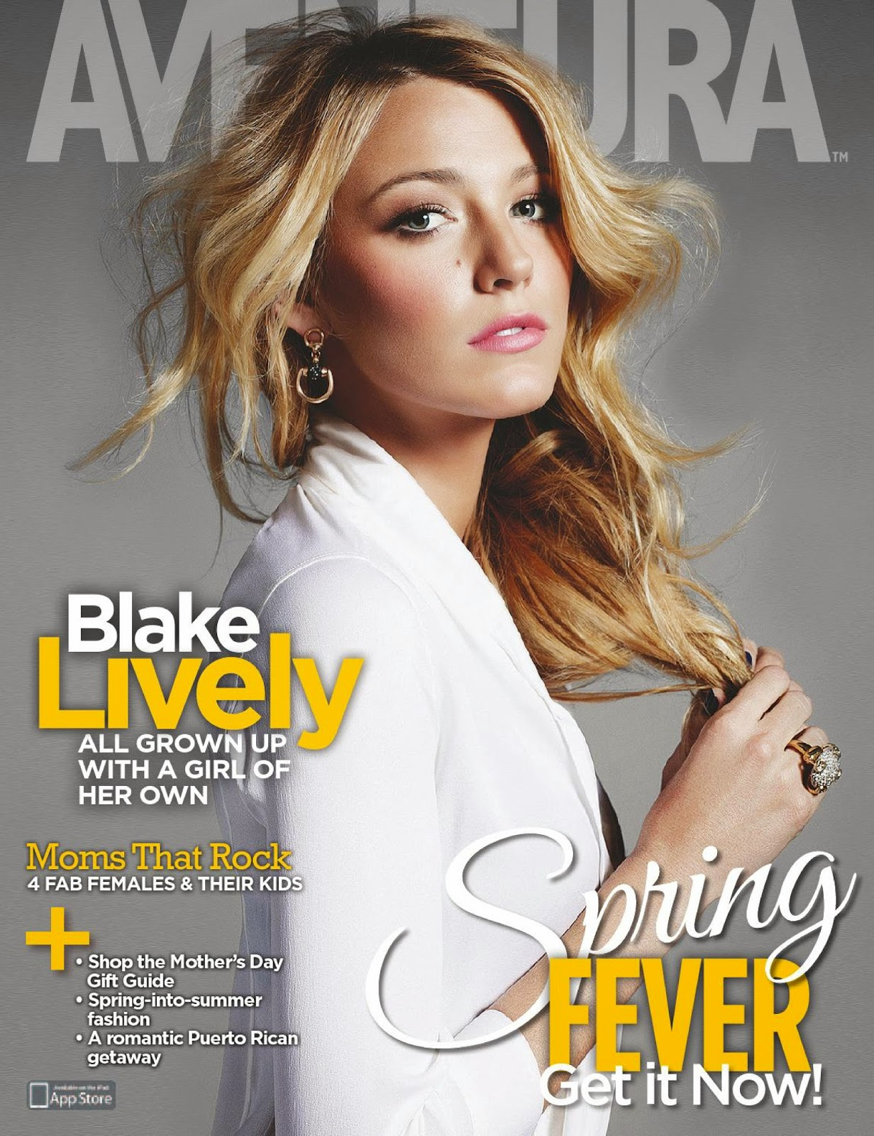 Actress @ Blake Lively - Aventura USA, April 2015