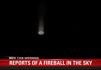 Latest UFO Sightings Fireball UFO Captured Above Utah