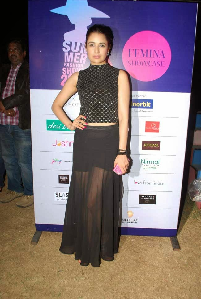 Yuvika Chaudhary at Femina Festive Showcase 2014