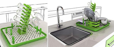 Creative Dish Drainers and Modern Dish Racks (15) 15