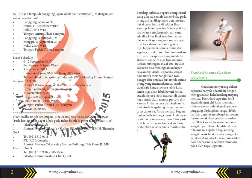 My Portofolio : Contoh Desain Majalah di Adobe InDesign ...