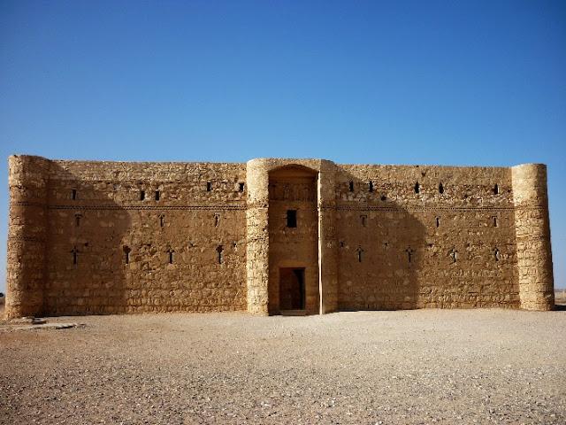 castelli del deserto, giordania, jordan