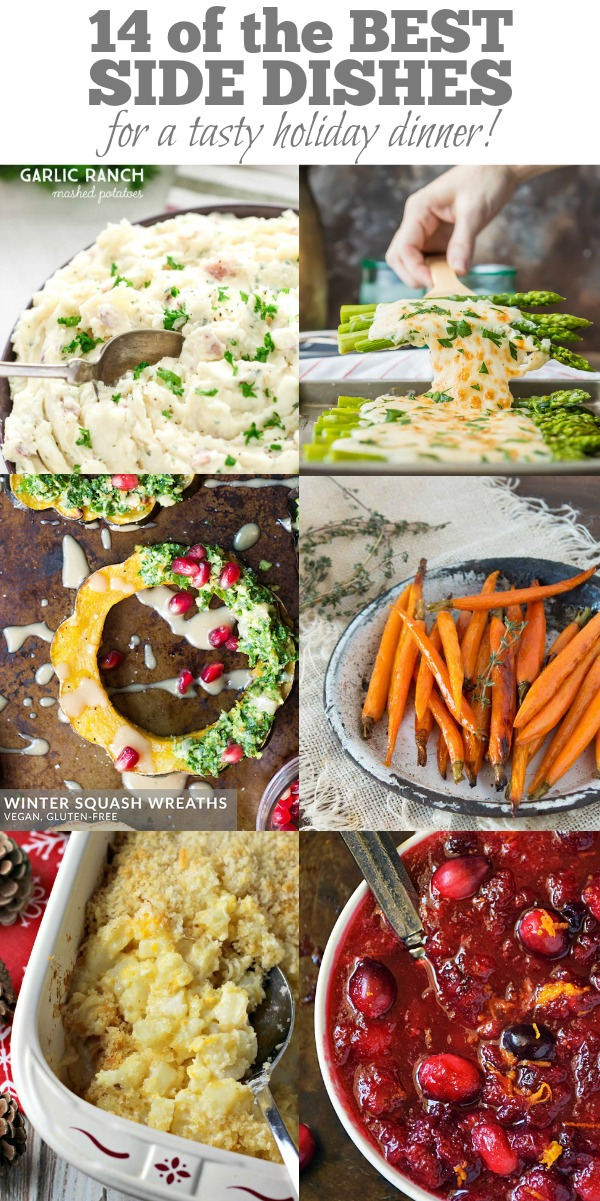 !4 of the BEST Holiday Sides by Life Tastes Good