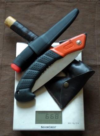 Sierra, hacha y cuchillo, la alternativa lógica a un único cuchillo grande 668